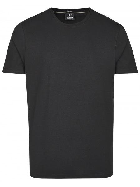 Strellson T-Shirt - Regular Fit - Rundahls-Ausschnitt - schwarz - 10009594 001
