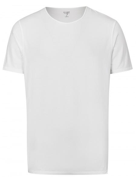 OLYMP Level Five Body Fit - T-Shirt - Rundhals-Ausschnitt - weiß - 5660 32 00