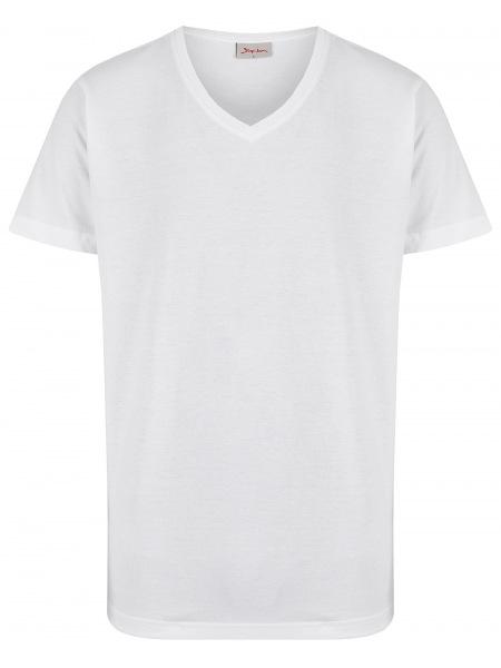 Signum T-Shirt Doppelpack - V-Neck - weiß - 999 901 911 - 100