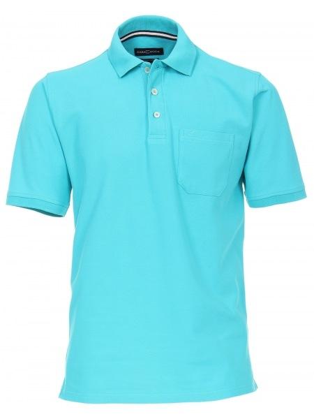 Casa Moda Poloshirt - Pima Cotton - türkis - 004370 358