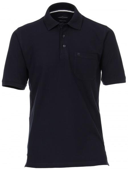 Casa Moda Poloshirt - Pima Cotton - schwarz - 004370 800