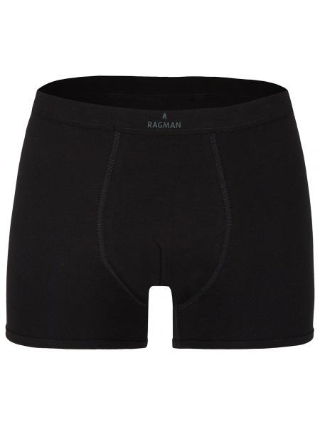 Ragman Short Pant - 2er Pack - schwarz - UW2025 009