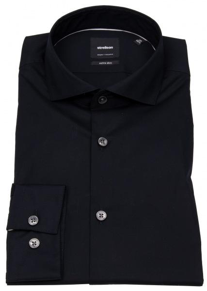 Strellson Extra Slim Fit - Haifischkragen - schwarz - ohne OVP - 30011699-10005809 00