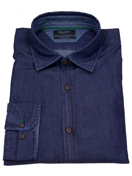 MAERZ Muenchen Hemd - Comfort Fit - Jeanshemd - blau - 712200 378