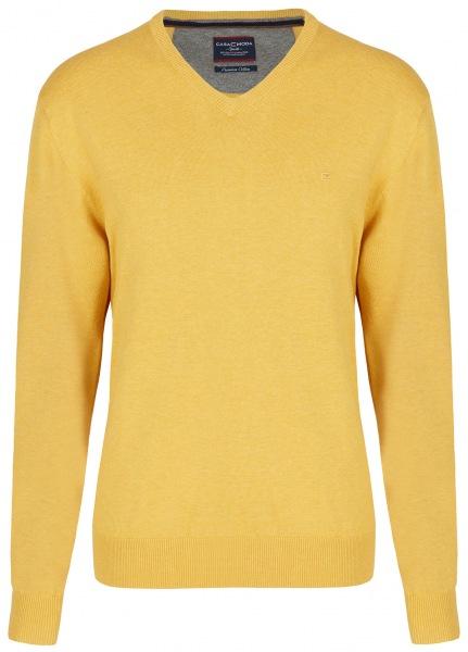 Casa Moda Pullover - V-Ausschnitt - gelb - 004430 534