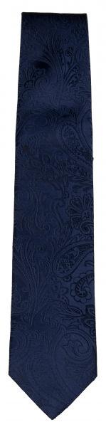 OLYMP Seidenkrawatte - Hochzeit - dunkelblau - 1726 33 18