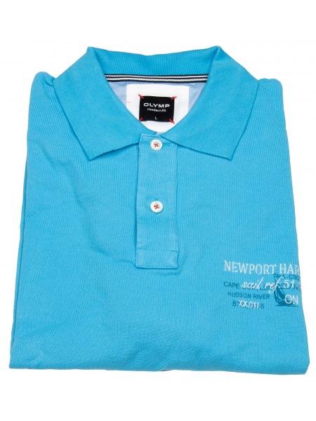 OLYMP Poloshirt - Modern Fit - türkis - 5516 12 76