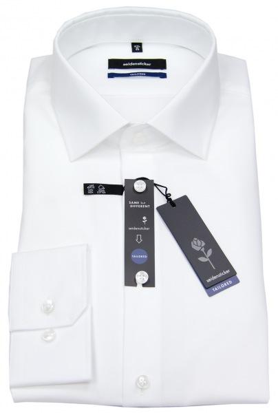Seidensticker Hemd - Tailored Fit - weiß - extra langer Arm 70cm - 021005 01