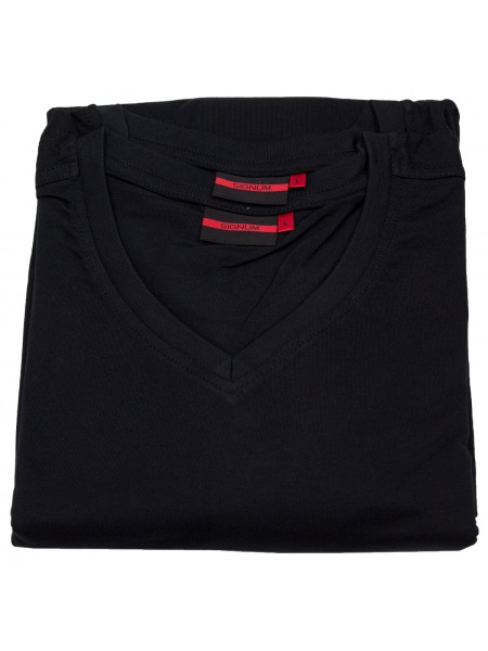 Signum T-Shirt Doppelpack - V-Neck - schwarz - 999 901 911 - 999
