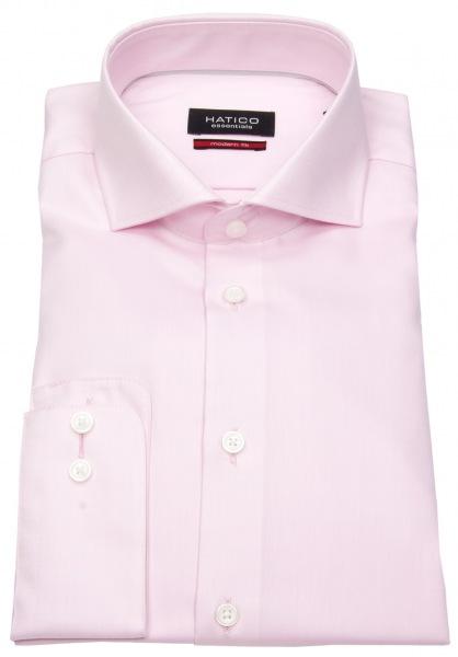 Hatico Hemd - Modern Fit - Haifischkragen - rosé - 3264-292 340