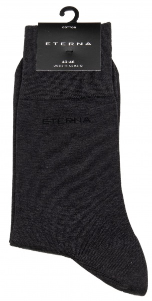 Eterna Socken - anthrazit - AC 600 / 35