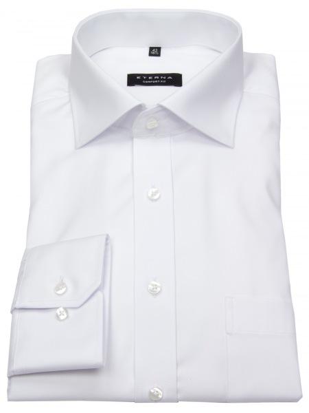 Eterna Hemd - Comfort Fit - blickdicht - weiß - extra kurzer Arm 59cm - 8817 E19K 00 Al=59