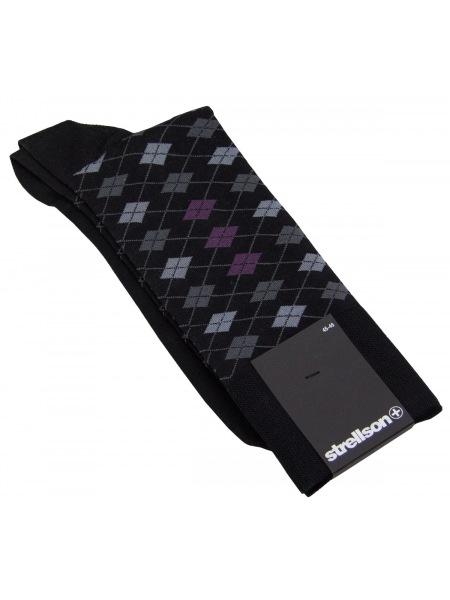 Strellson Socken - kariert - 60 102 X 01