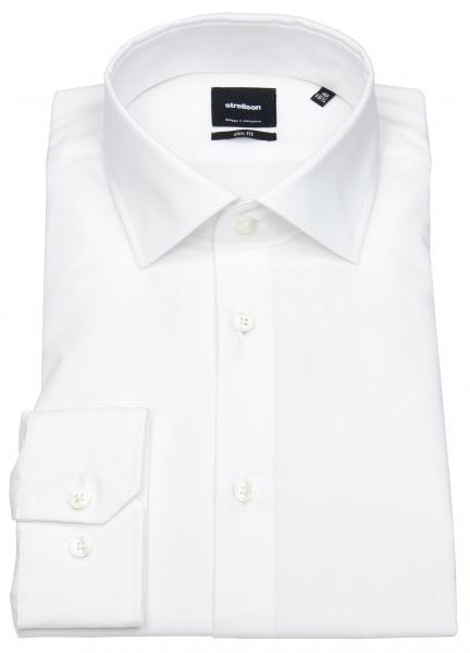 Strellson Slim Fit - Kentkragen - weiß - ohne OVP - 30011609-10000206 10