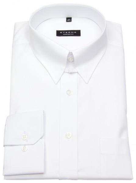 online store 6dd54 ec242 Eterna Hemd - Comfort Fit - Tabkragen - weiß