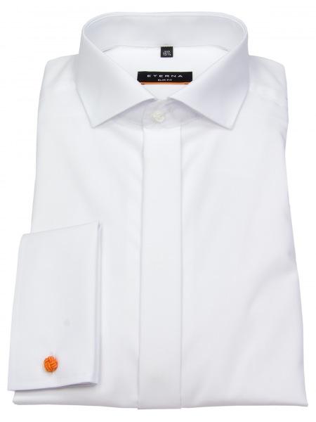 Eterna Galahemd - Slim Fit - Umschlagmanschette - weiß - 8500 F392 00