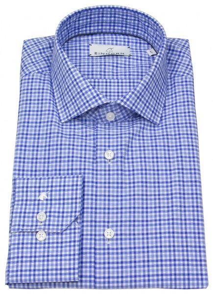 Einhorn Hemd - Modern Fit - blau / weiß kariert - 381710.1312 3