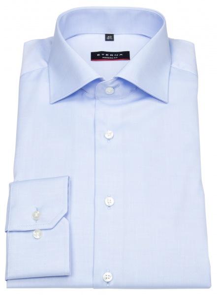 Eterna Hemd - Modern Fit - Cover Shirt - extra blickdicht - hellblau - 8817 X18K 10