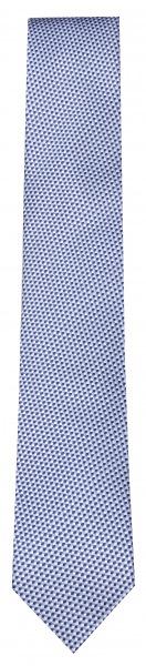 OLYMP Seidenkrawatte - Slim - blau / hellblau - 1752 31 18