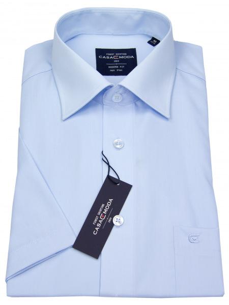 Casa Moda Kurzarmhemd - Modern Fit - hellblau - 008530 115