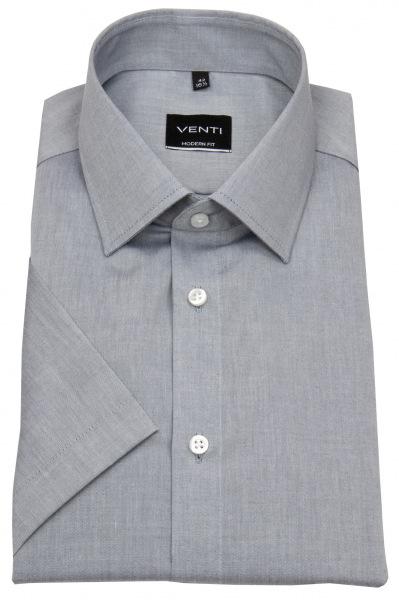 Venti Kurzarmhemd - Modern Fit - grau - 001620 705
