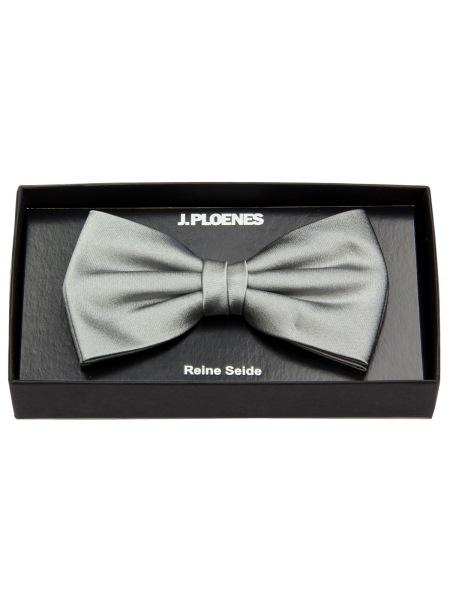 J. Ploenes Schleife / Fliege - Seide - grau - 18001 018