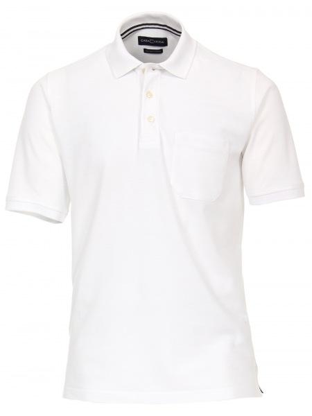 Casa Moda Poloshirt - Pima Cotton - weiß - 004370 000