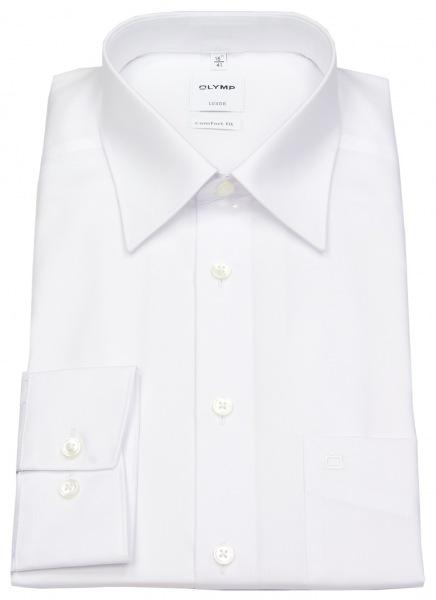 OLYMP Hemd - Luxor Comfort Fit - weiß - extra kurzer Arm 58cm - 0250 58 00