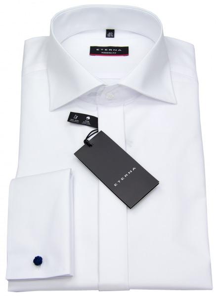 Eterna Galahemd - Modern Fit - Umschlagmanschette - weiß - 8500 X367 00