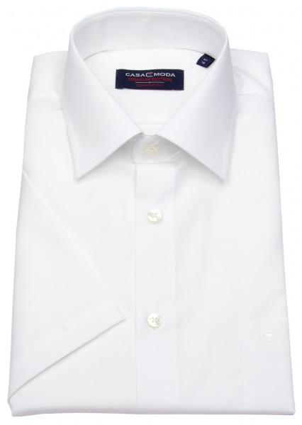 Casa Moda Kurzarmhemd - Comfort Fit - weiß - 008070 0
