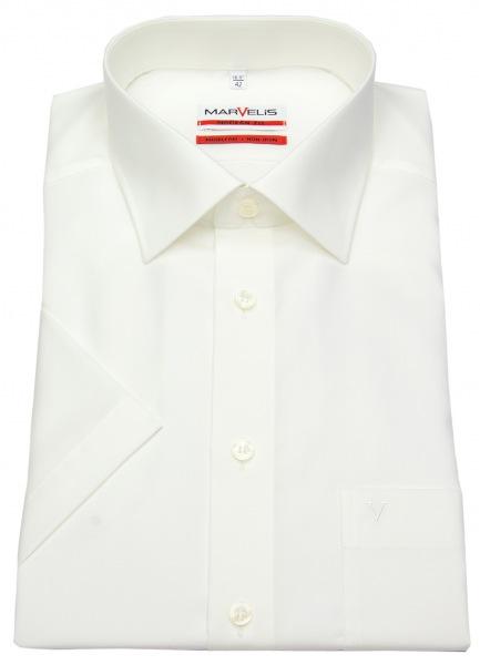 Marvelis Kurzarmhemd - Modern Fit - hellbeige - 4700 12 20
