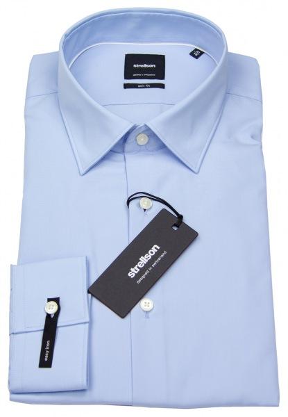 Strellson Slim Fit - Kentkragen - hellblau - ohne OVP - 30001558-10000206 45