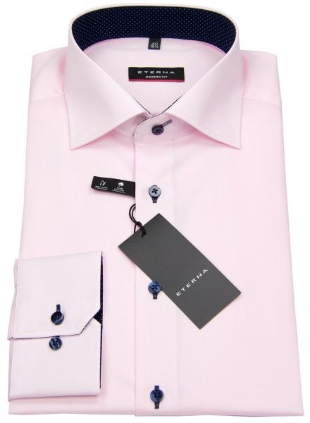 Eterna Hemd - Modern Fit - Oxford - Kontrastknöpfe - rosé - 8100 X13K 50