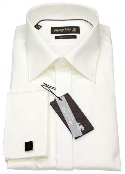 Jacques Britt Smokinghemd - Custom Fit - UMA - champagner - 960275 02