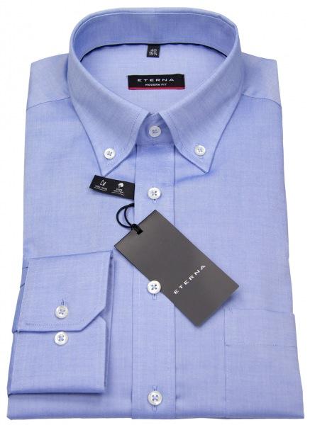 Eterna Hemd - Modern Fit - Oxford - Button Down - blau - 8100 X194 12