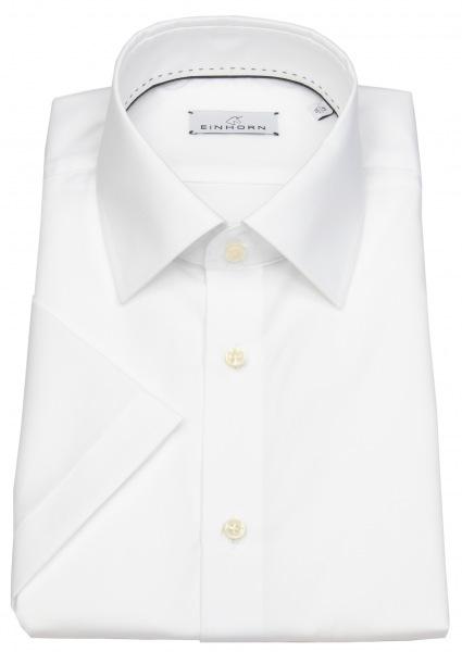 Einhorn Kurzarmhemd - Comfort Fit - Derby - weiß - 824 11305 0001