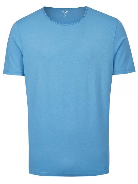 OLYMP Level Five Body Fit - T-Shirt - Rundhals-Ausschnitt - blau - 5660 32 15