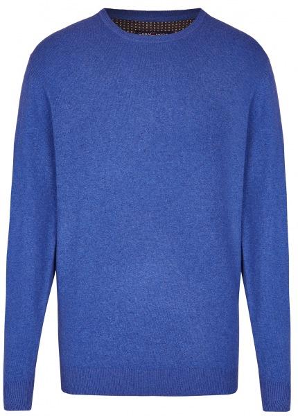 Casa Moda Pullover - Rundhals Ausschnitt - blau - 483006400 134