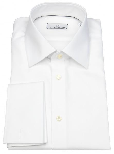 Einhorn Hemd - Modern Fit - Jamie - Umschlagmanschette - weiß - 871.11305 1