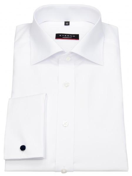Eterna Hemd - Modern Fit - Umschlagmanschette - weiß - 8500 X487 00
