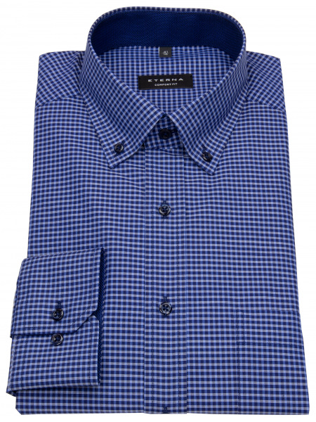 Eterna Hemd - Comfort Fit - Button Down - blau / dunkelblau - 8917 E144 09