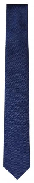 OLYMP Seidenkrawatte - Super Slim - blau / schwarz - 1797 00 18