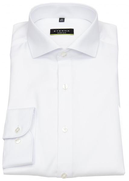 Eterna Hemd - Super Slim Fit - Cover Shirt - extra blickdicht - weiß - 8817 Z182 00