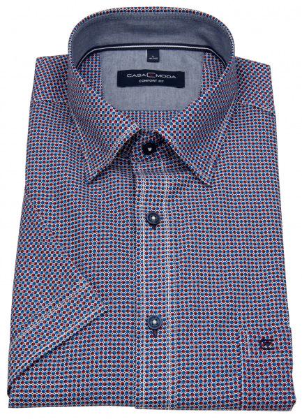 Casa Moda Kurzarmhemd - Comfort Fit - U.B.D. - Print - mehrfarbig - 903416800 100