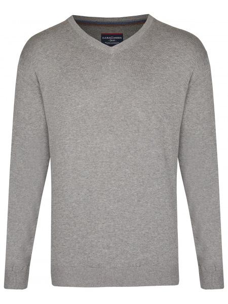 Casa Moda Pullover - V-Ausschnitt - grau - 004430 713