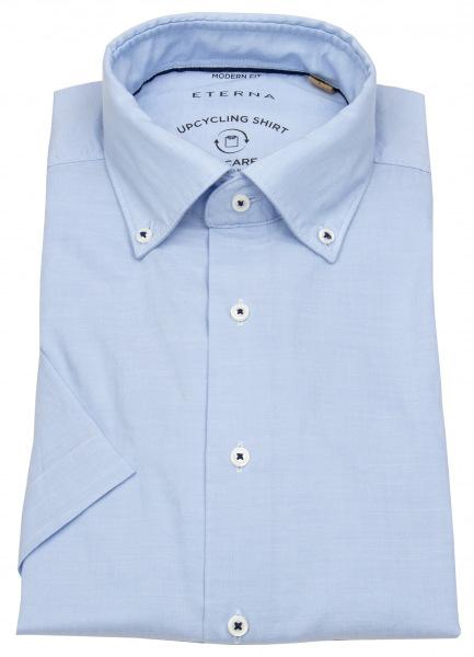 Eterna Kurzarmhemd - Modern Fit - We Care Shirt - hellblau - 3330 WS74 12