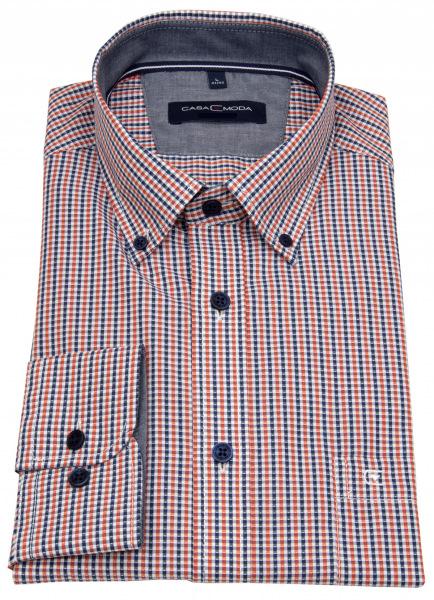 Casa Moda Hemd - Casual Fit - Button Down - kariert - 413578900 450
