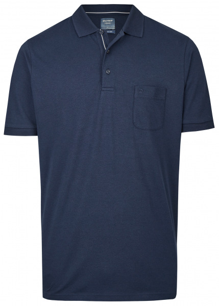 OLYMP Poloshirt - Casual Fit - Active Dry - dunkelblau - 5410 52 18