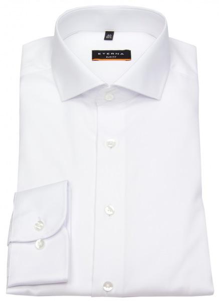 Eterna Hemd - Slim Fit - Cover Shirt - extra blickdicht - weiß - 8817 F182 00