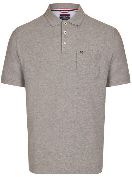 Casa Moda Poloshirt - Pima Cotton - grau - 004370 713